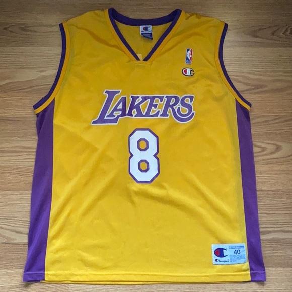 Kobe Bryant #8 Champion Jersey, Size 40